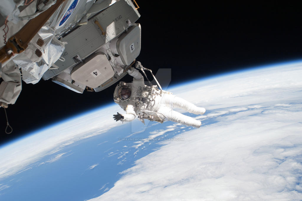 international space station space walk - photo #5