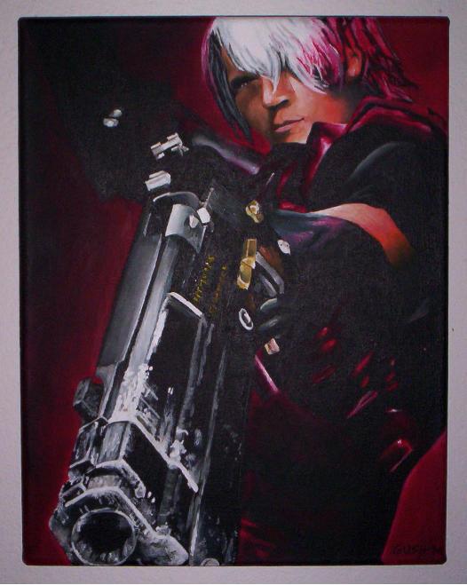 Dante: Devil May Cry by MattGush