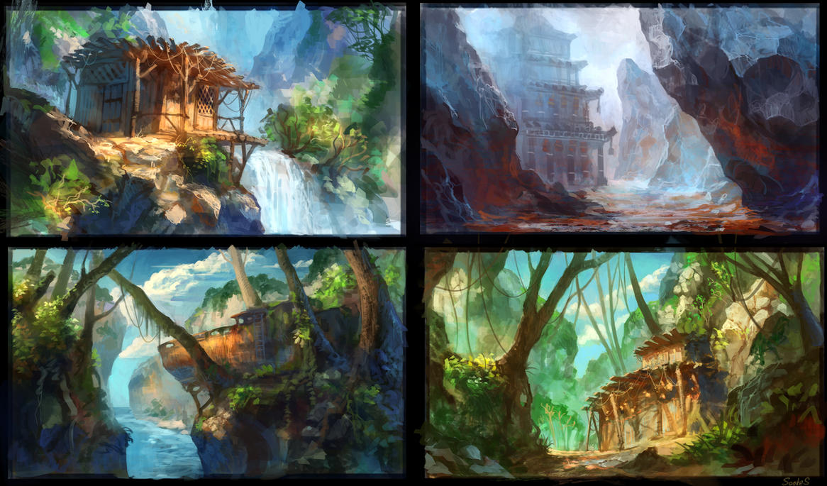 environment study by Real-SonkeS