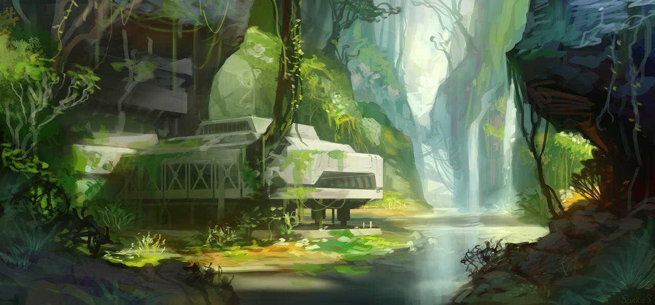 Jungle base by Real-SonkeS