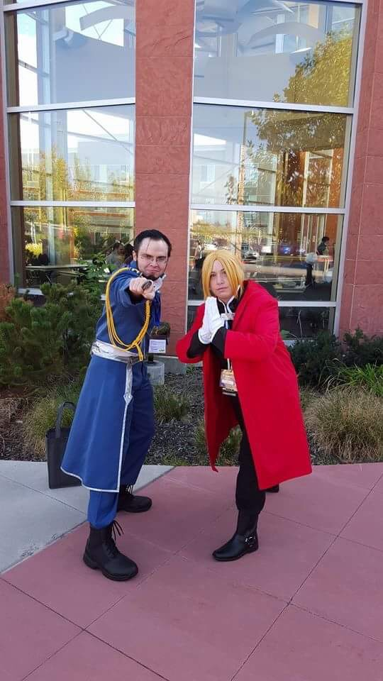 Elric and Hughes by Coffee-N-Computers