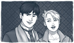 roy and riza by Panhard