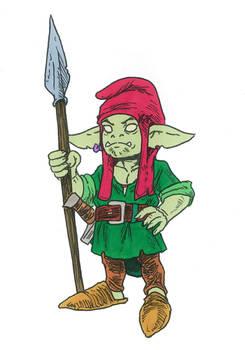 Uk Uk Pygmy Goblin - Sir Lance-a-Lot - Shabazik