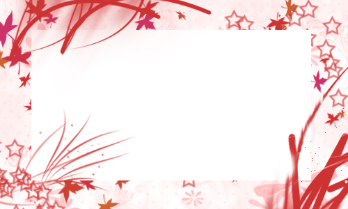 Red Border or Frame by KazeYuki456 on DeviantArt