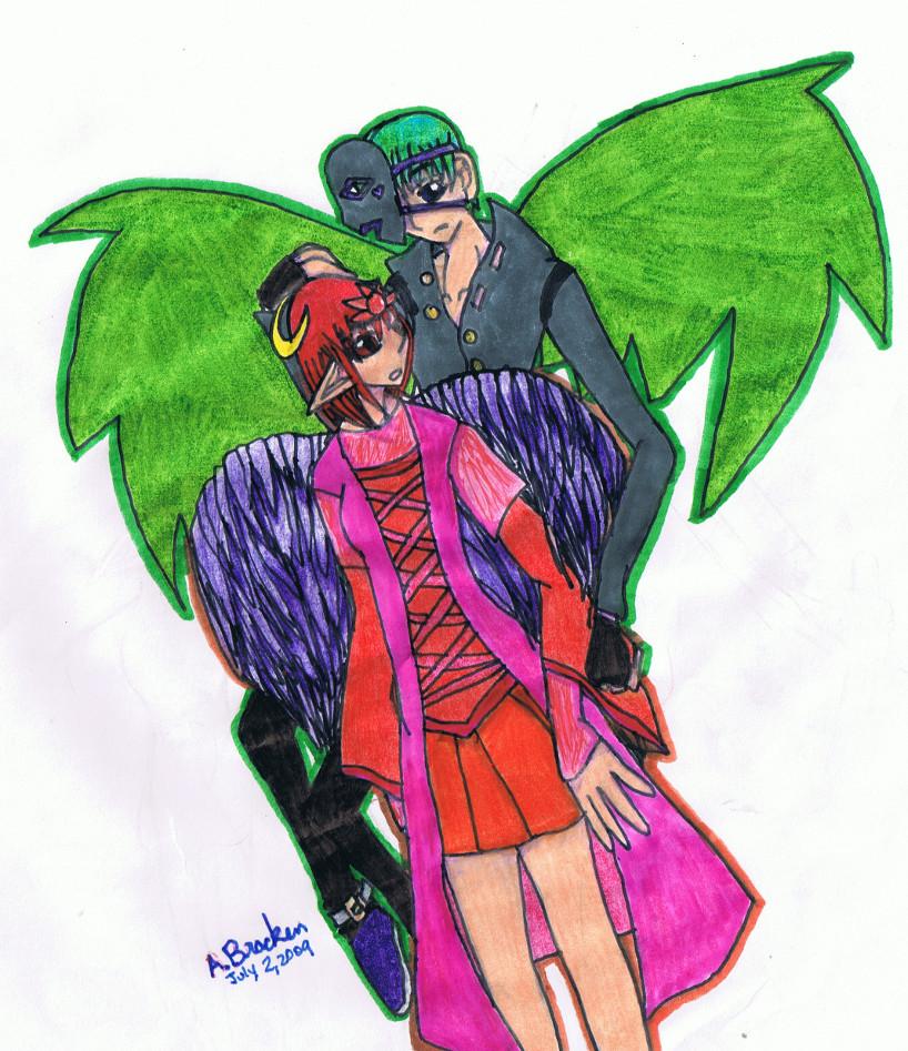 Akia and Mark 1 color v.1 by akiachan
