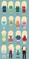 Eira Clothes by KaetlynShae