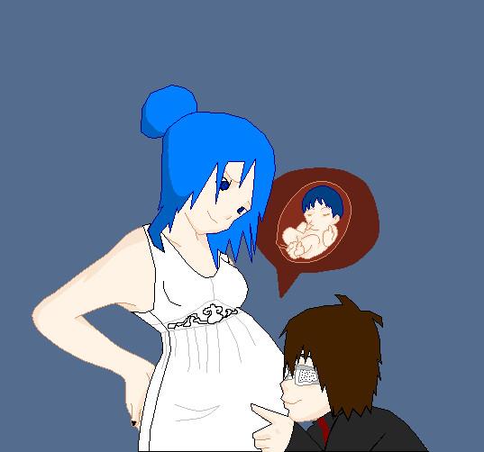 Tobi and Konan's baby, Kobi by XxSallyChickxX on DeviantArt