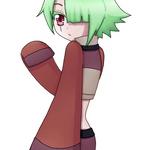 Illen's creepy blink by harasi