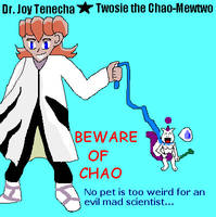 Beware of Chao Ad by RubyMewtwo