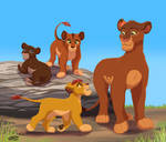 Nirmala and Rani's cubs