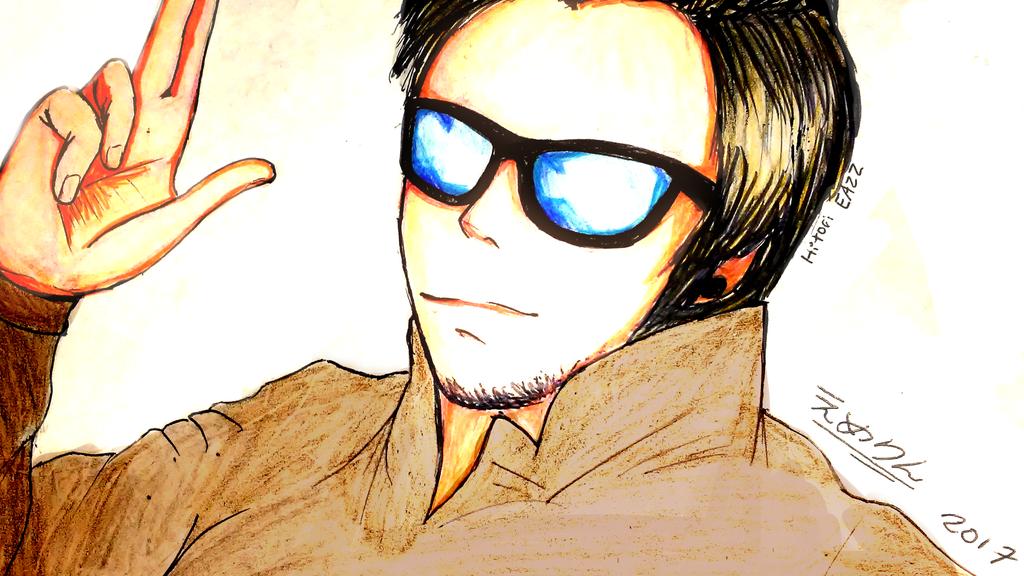 Dibujo De ElrubiusOMG [Dibujando Youtubers] By