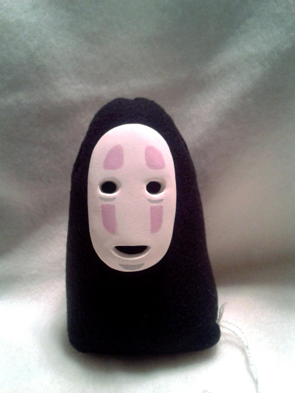 No Face Plushie by VP-Land-of-La