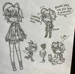 Bambi Sketch Ref