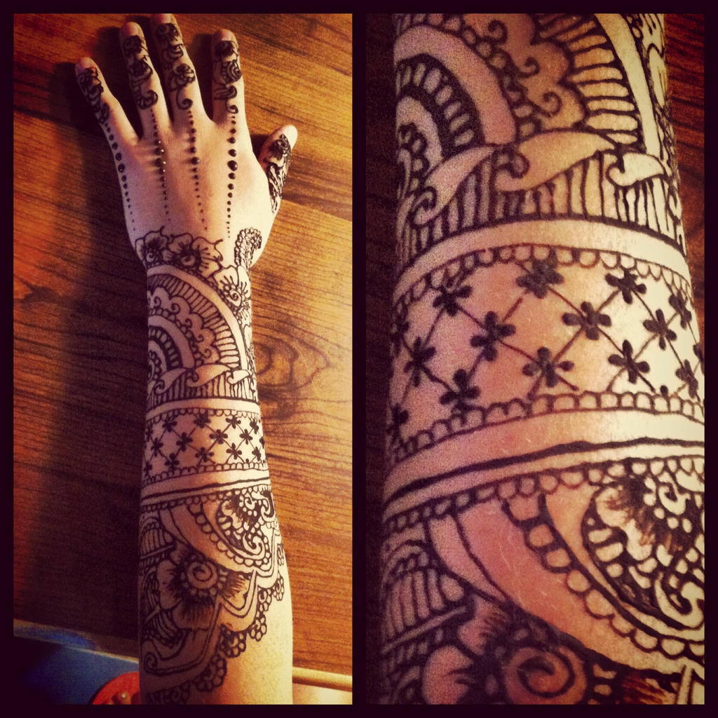 Mehndi Tattoo Sleeve: Henna Sleeve 2 By Gennavieve On DeviantArt