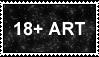 18+ ART Stamp by DEADRKGK