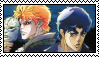 Jonathan and Dio Stamp 2 by DEADRKGK