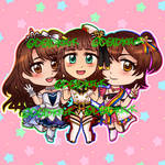 iDOLM@STER Epoxy Glitter Charm [FOR SALE]