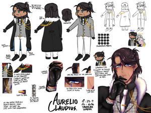 Aurelio Claudius Ref Sheet