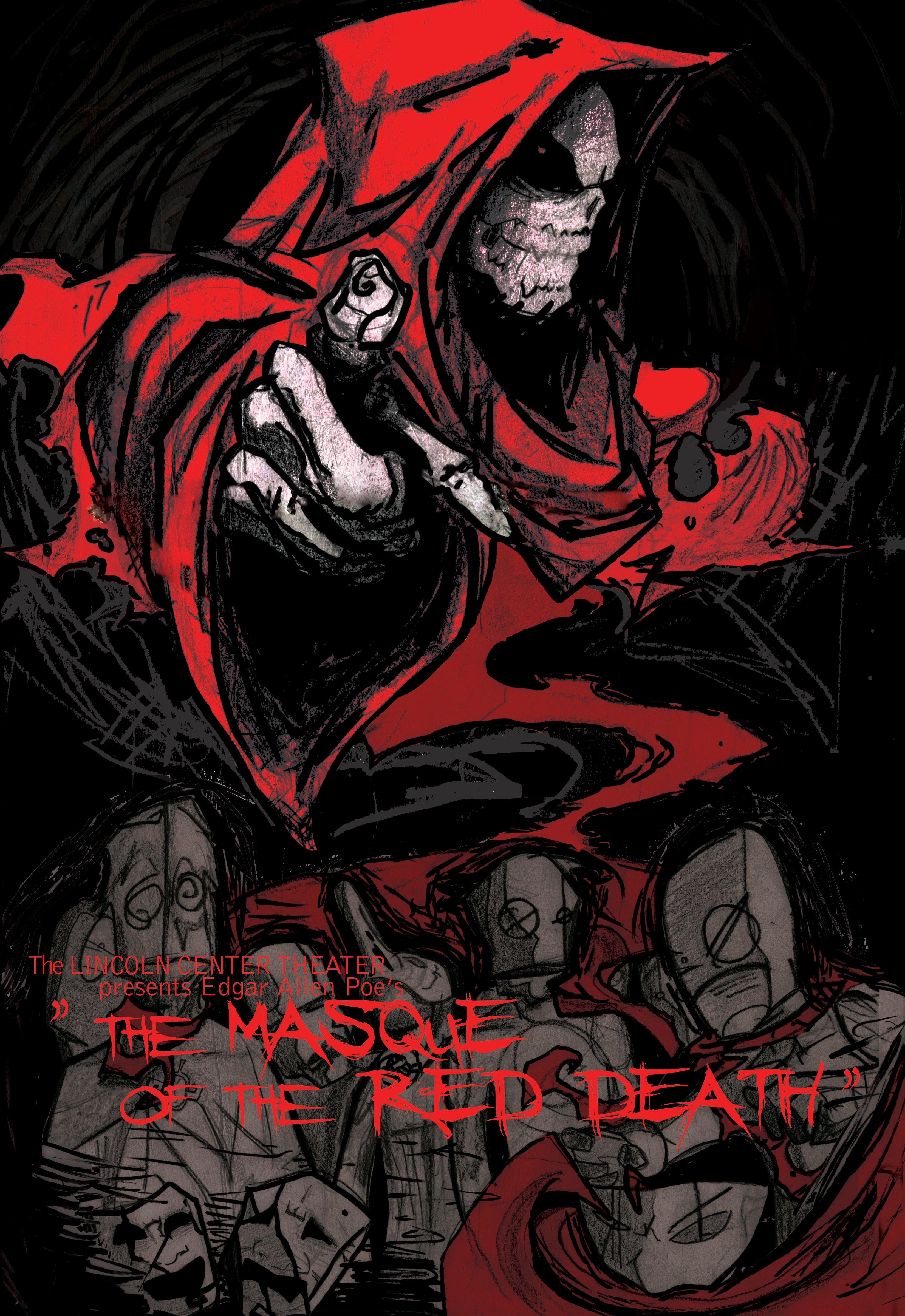 the masque of the red death thesis