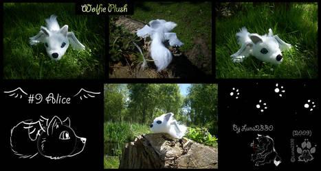 Chibi plush commission by Luna2330