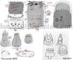 Totoro bag - pattern