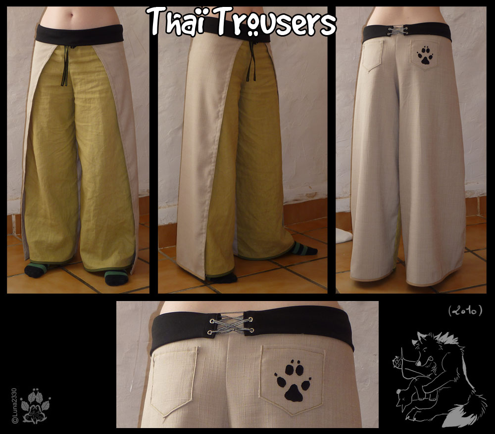 Thai trousers by Luna2330