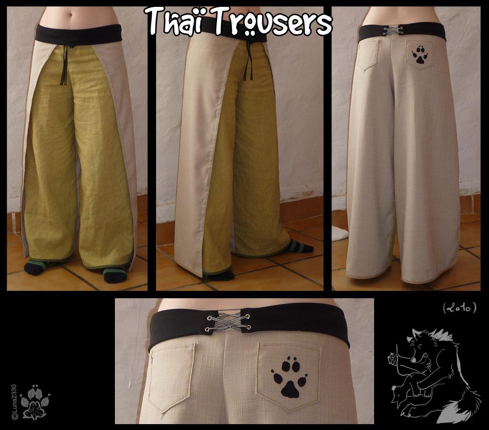 Thai trousers by Luna2330