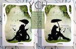 Papercut YCH by Luna2330