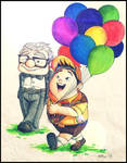 Russell and Mr. Fredricksen