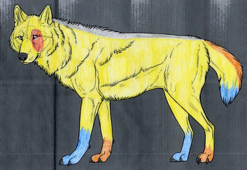 Female Wolf Adopt- OPEN
