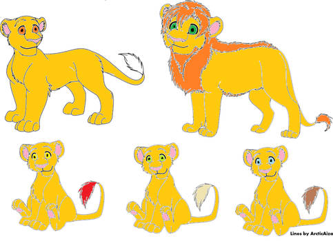 Lion Family Adopts- OPEN