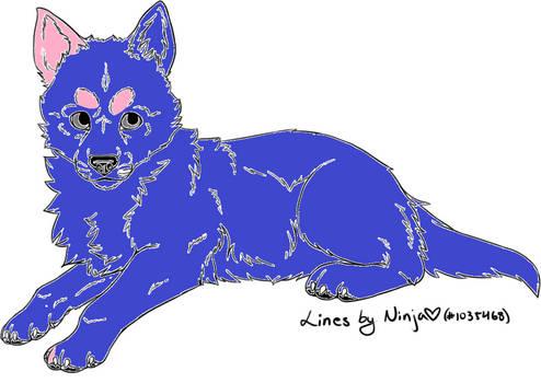 Unnatural Wolf Adopt- OPEN