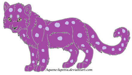 Unnatural Snow Leopard Adopt- OPEN