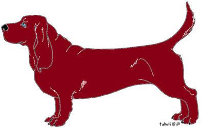 Red Basset Adopt- OPEN
