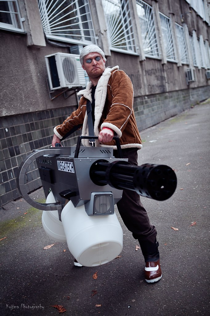 Batou cosplay by PrSerenity