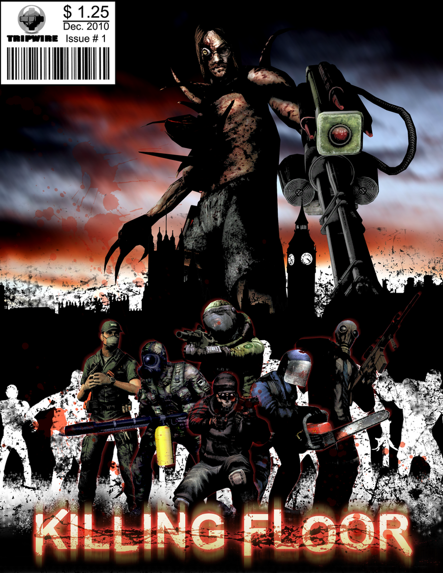 ... Killing Floor Comic Book Cover By TymaxBeta