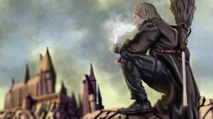 Fan Art Harry Potter - Battle of hogwarts