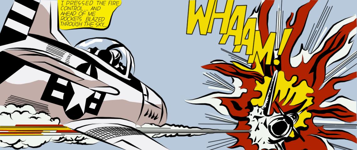 Cartoon: Whaam! - The English Blog