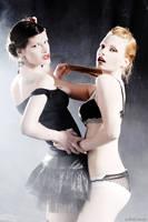 girls' catfight by Svea-JillCzech