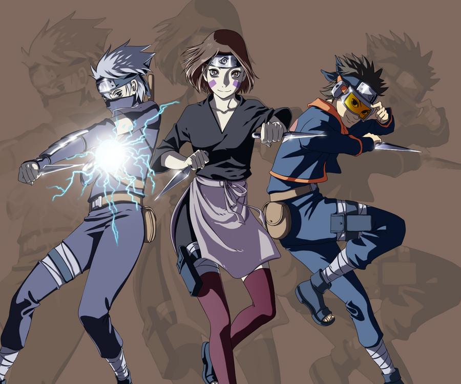 Naruto - Team Minato b...