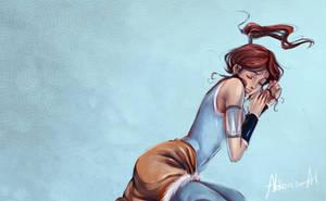 2511- Korra ssssleeping by Alderion-Al