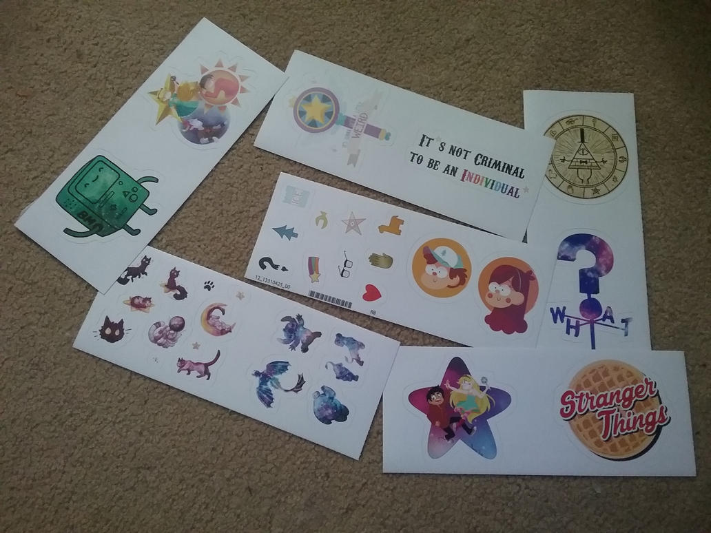 STICKERS!!! by TheEpicWingedWolf
