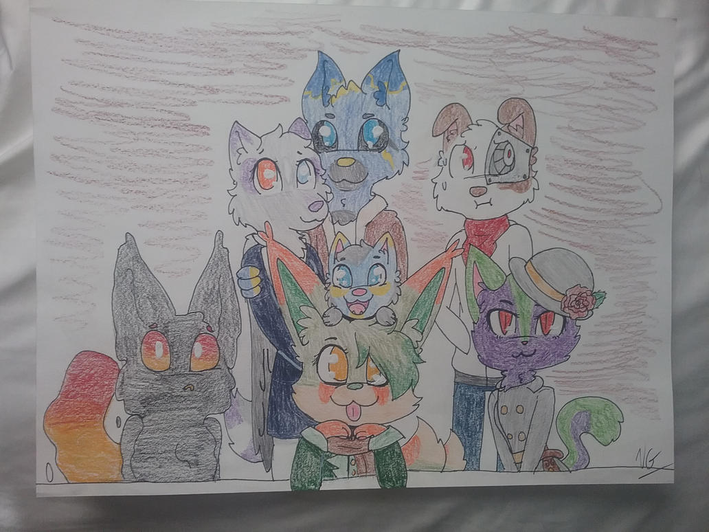 Family Photo by TheEpicWingedWolf