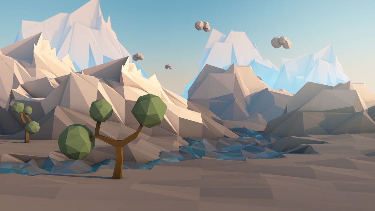 Berühmt Low Poly Journey by CallMeGav on DeviantArt OO37