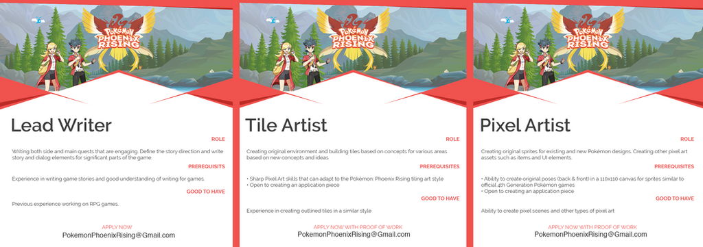 We're looking for Writers, Tilers + Pixel Artists by CallMeGav