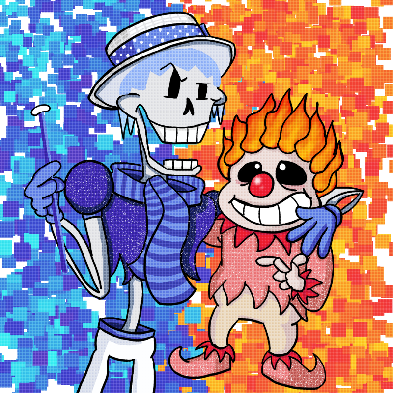 The Miser Skelebrothers By Luvkirby4ever On DeviantArt