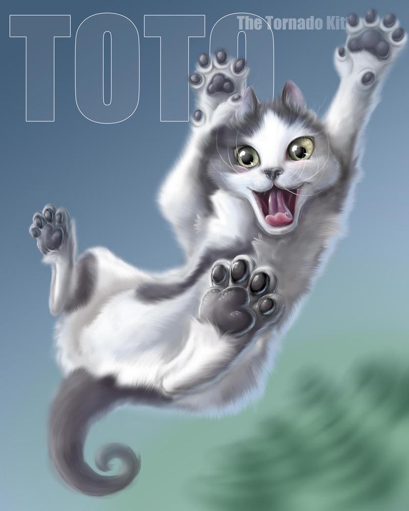 Toto The Tornado Kitten By Cameoanderson On Deviantart
