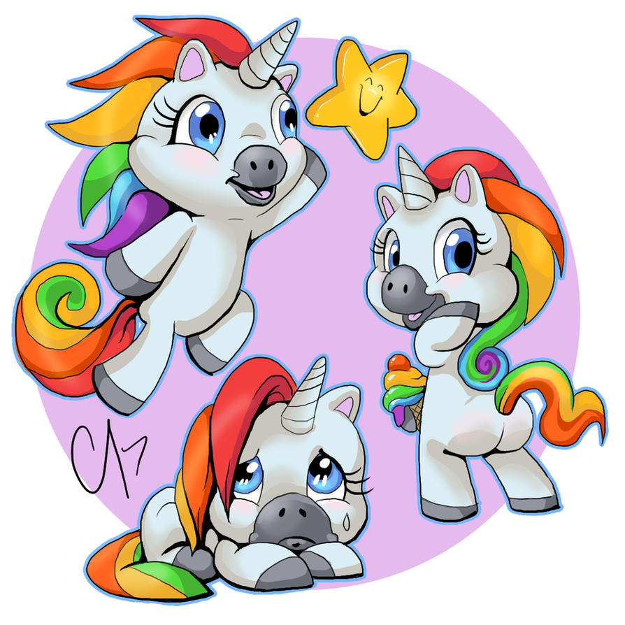 Squatty Potty Unicorn by cameoanderson