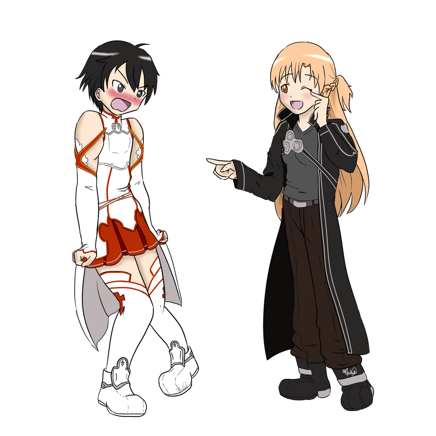 Request: Sword Art Online (Outfit Swap) by madzik23