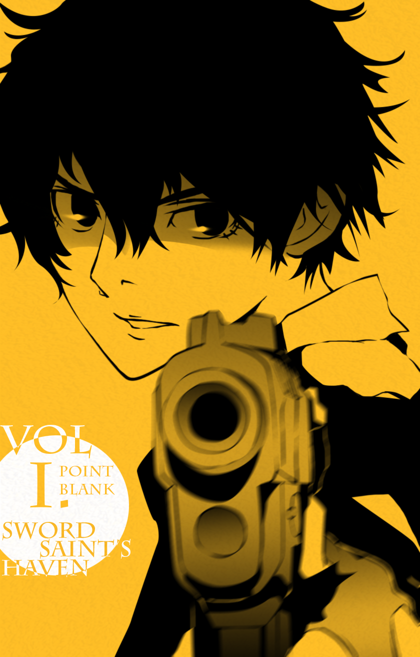 Point Blank - Sword Saint's Haven (Volume 1 cover) by cup-drop